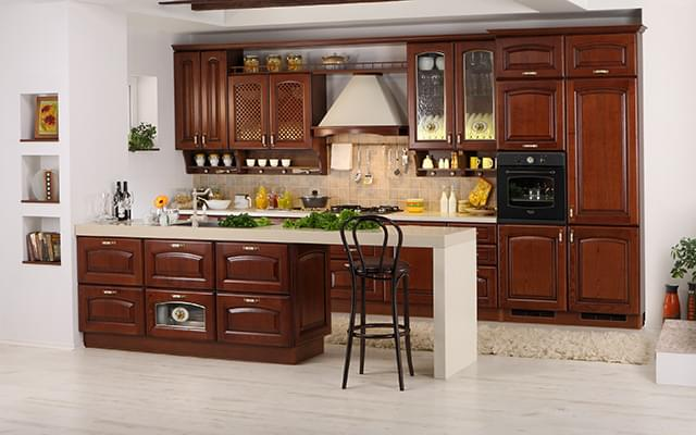 Dialog Kitchens - A true masterpiece of solid wood