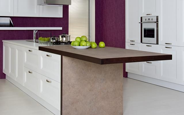 Worktops and wall panels